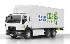 Carlsberg cumpără 20 de camioane electrice Renault