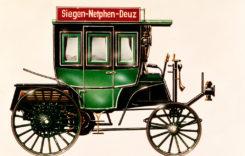 Primul autobuz cu motor cu combustie internă a împlinit 125 de ani