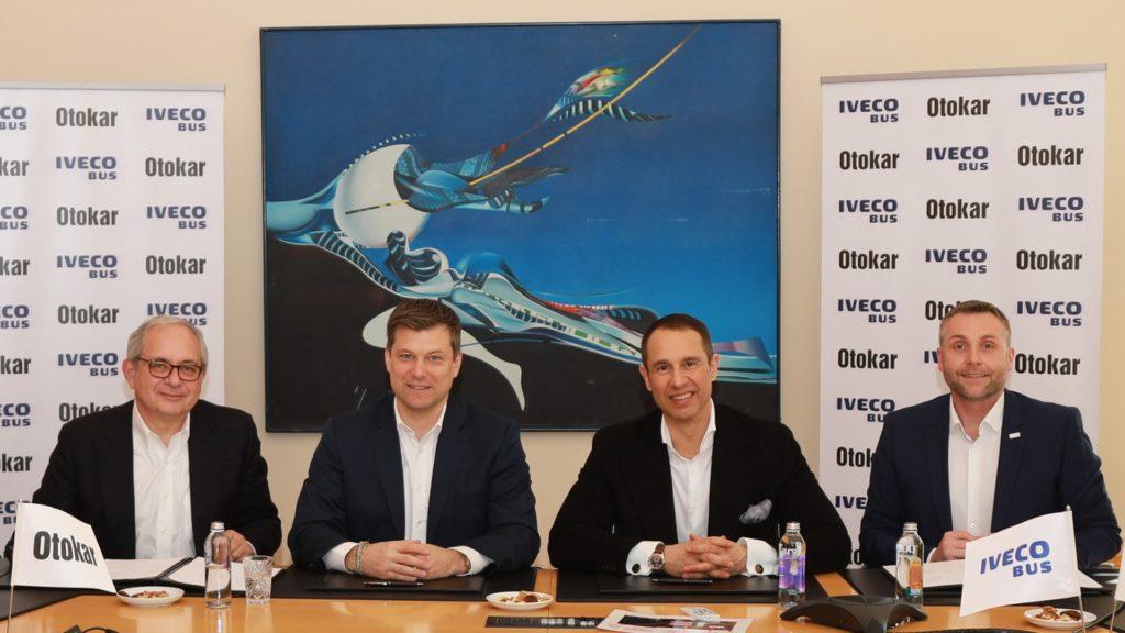Iveco Bus acord productie Otokar