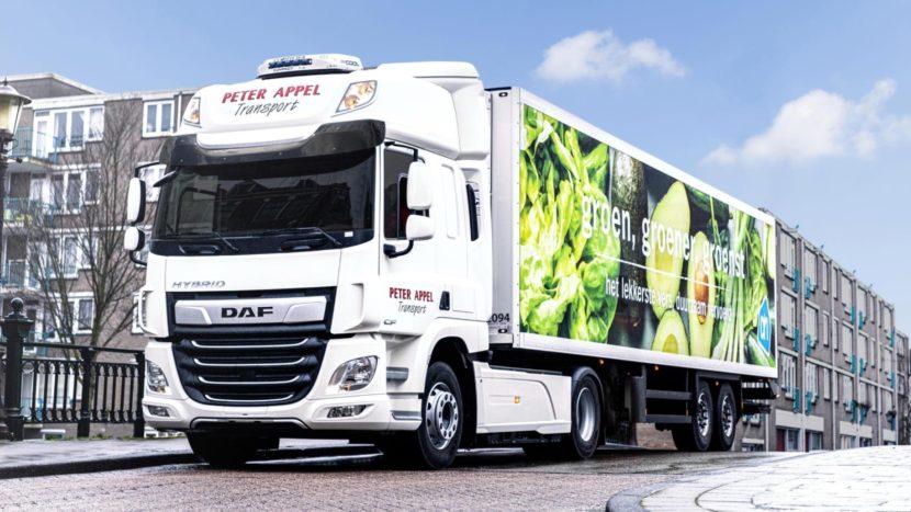 DAF CF Hybrid începe testele în operațiuni reale