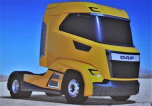 DAF renunță la cabina de camion plată