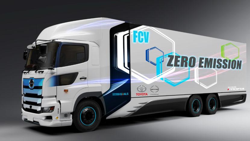Toyota și Hino vor dezvolta un camion alimentat cu hidrogen