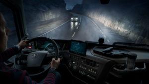 Noul Volvo FH16 interior cabina
