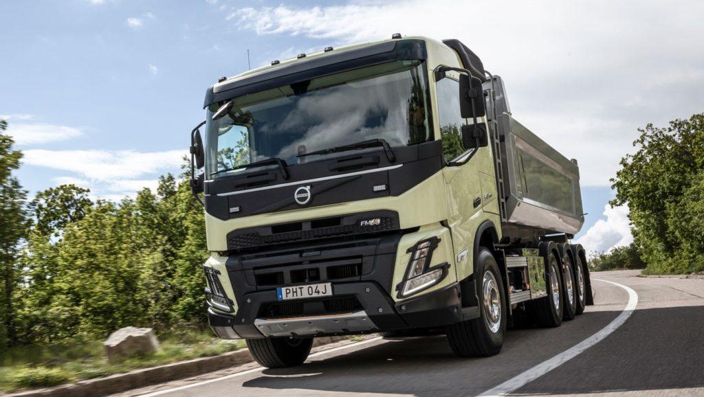 Noul Volvo FMX: camionul de construcții face un pas în viitor