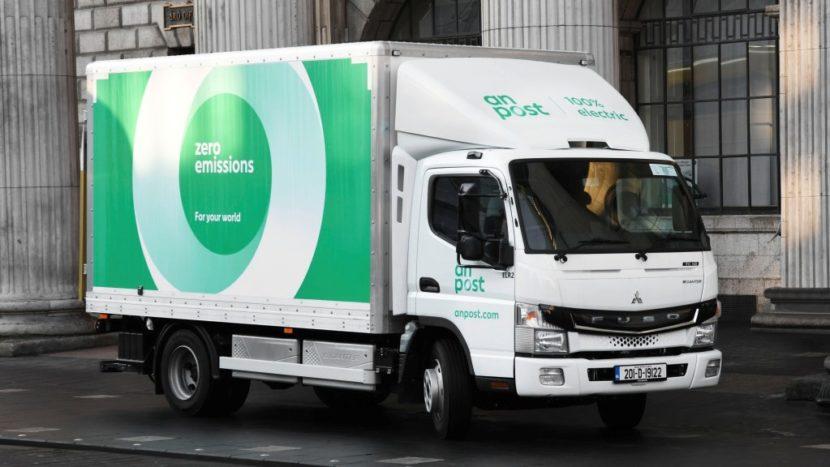 FUSO eCanter a ajuns și în Dublin
