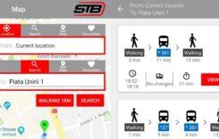 INFO Transport București, noua aplicație a STB