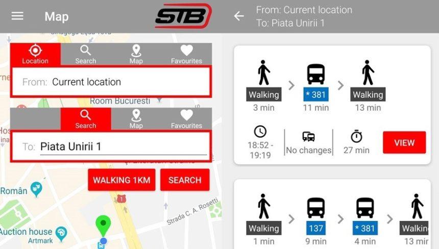 Info Transport București