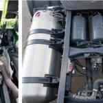 Scania G 410 LNG motor rezervoare