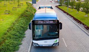 Comenzi pentru 25 de autobuze cu hidrogen Solaris
