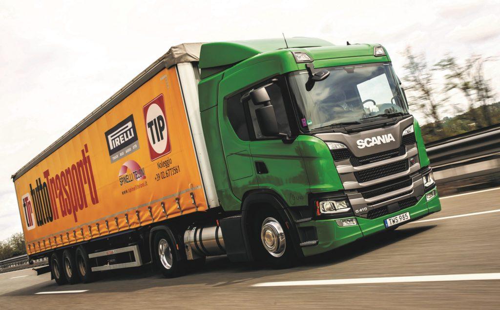 Test Scania G 410 LNG