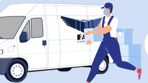 FAN Courier a introdus posibilitatea de livrare contactless