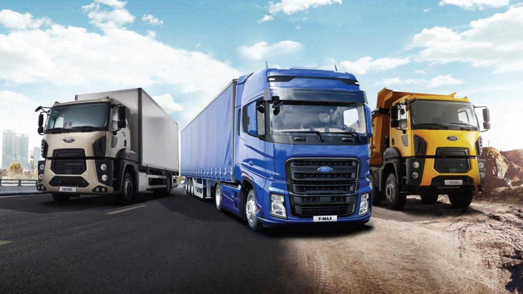 VIATRACK Cum sunt monitorizate vehiculele Ford Trucks