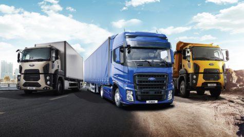 Cum sunt monitorizate camioanele Ford Trucks