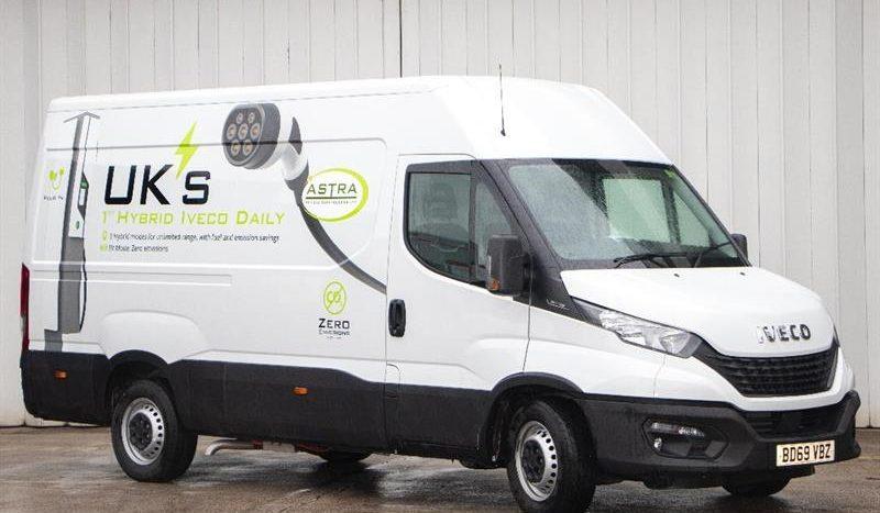 Iveco Daily diesel, transformat în hibrid plug-in