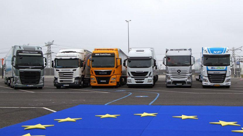Înmatriculări de camioane în martie 2020 în România