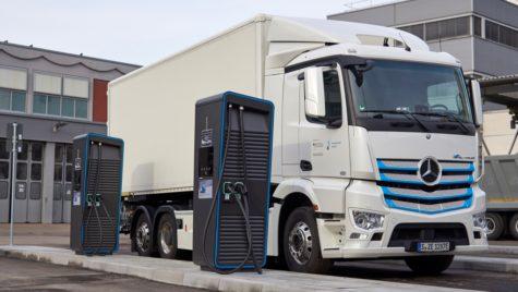 În 2030, jumătate dintre camioanele urbane vor fi electrice