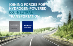 Volvo și Daimler au semnat acordul pentru producerea în comun a celulelor de combustie pentru camioane