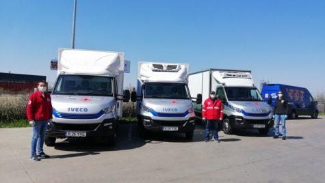 Iveco România își pune flota demo la dispoziția celor de la Crucea Roșie