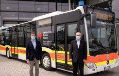 Autobuz Citaro convertit pentru transport de pacienți COVID-19