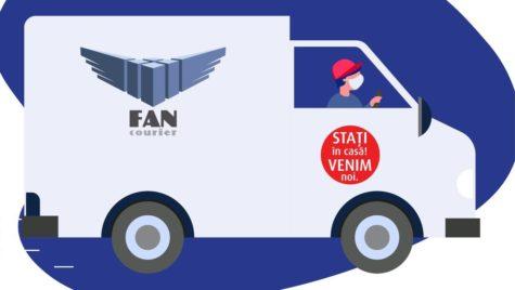 FAN Courier face în continuare livrări și ridicări de colete la Suceava