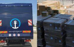 Kuehne + Nagel România, transport de măști chirurgicale din China