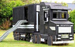 Loc de joacă în formă de camion? Acesta poate fi următorul tău proiect