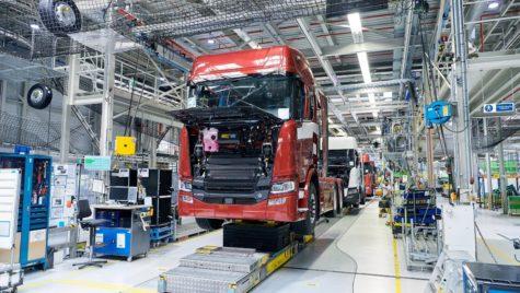 Scania reîncepe producția la fabricile din Olanda