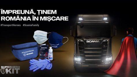 Scania România le oferă clienților Kitul de Supererou