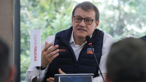 Interviu Stefano Albarosa: Cefin lucrează la capacitate normală, vânzările de camioane nu diferă mult de estimări