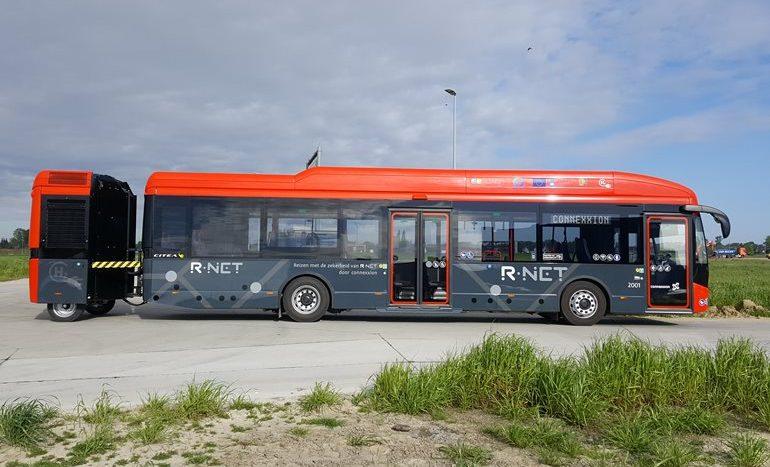 Autobuz electric VDL, cu tehnologia de hidrogen în remorcă