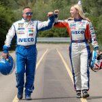 Jochen Hahn (Team Hahn Racing) si Steffi Halm (Team Schwabentruck)