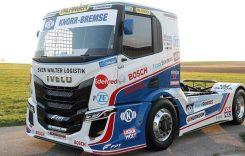 Noul camion de curse IVECO, prezentat de Hahn Racing