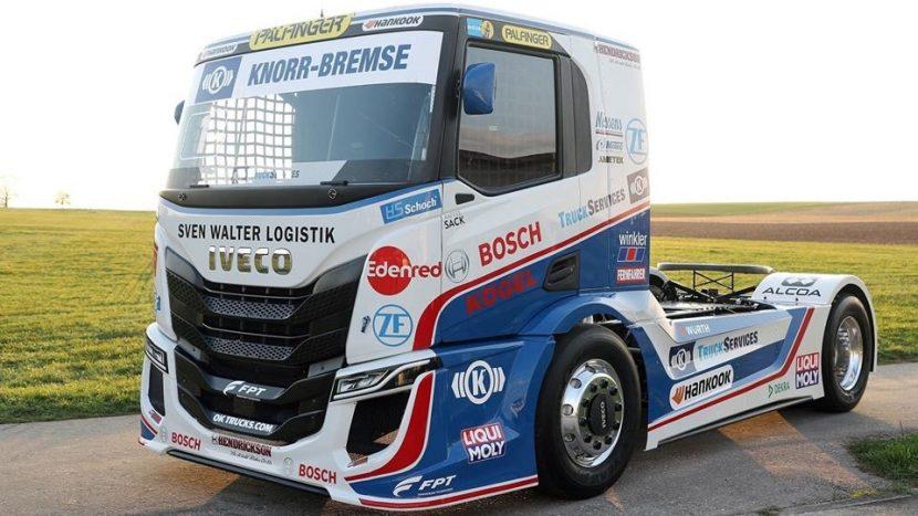 Noul camion de curse IVECO