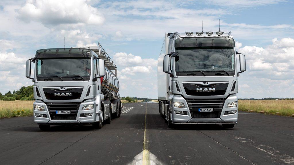 Înmatriculări camioane grele în România (Aprilie 2020)