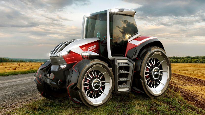 Cel mai frumos tractor? Premiu de design pentru un concept STEYR