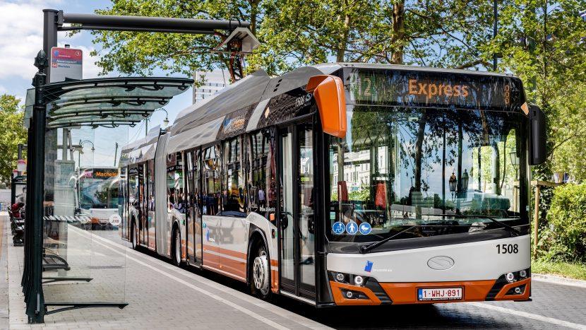 16 autobuze articulate electrice Solaris la Craiova