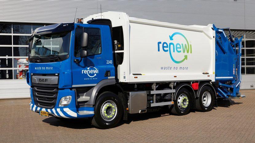 200 de camioane DAF pentru specialistul în reciclare Renewi