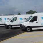 Primele vehicule eSprinter de serie, livrate către Hermes