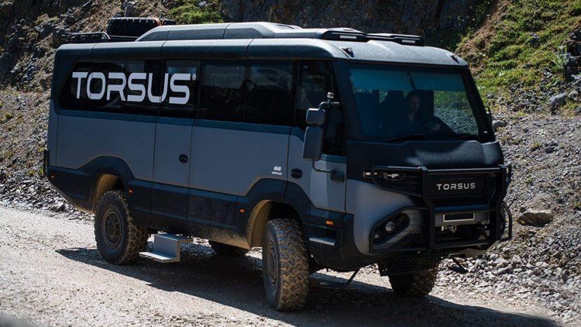Premiu de design pentru Torsus Praetorian, primul autobuz off-road