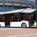 primul autobuz electric MAZ