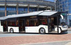 MAZ a lansat primul său autobuz electric
