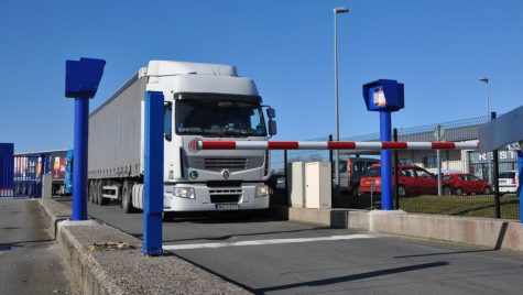 Prima parcare securizată Bosch din Franța, la Calais