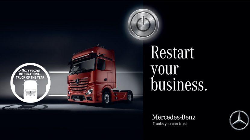 Rate amânate 3 luni pentru camioane Mercedes din stoc în România