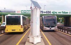 Energie eoliană produsă de trecerea autobuzelor (video)