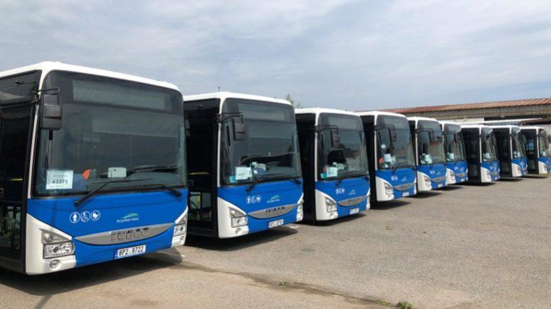 Iveco a livrat 145 de autobuze Crossway LE în Cehia