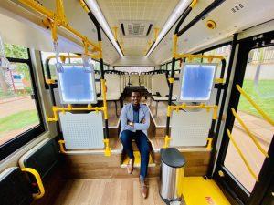 Primul autobuz electric fabricat în Uganda