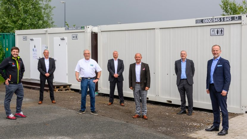 Logistikhilft containere sanitare GVZ Bremen