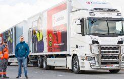 Cel mai lung camion alimentat cu LNG parcurge zilnic 1000 km