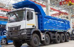 KAMAZ 65952, noua basculantă de 60 de tone din Rusia