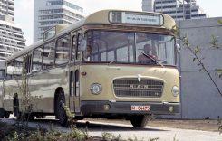 Primul autobuz electric MAN a împlinit 50 de ani